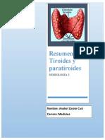 Semio de Tiroides y paratiroides