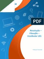 UEL 2019 - Resolução Estética