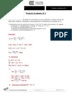Producto Académico N° 2 calculo II