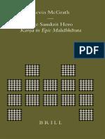 (Brill's Indological Library  20) Kevin McGrath - The Sanskrit Hero_ Karna in Epic Mahābhārata-Brill Academic Publishers (2004).pdf