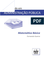PNAP - Bacharelado - Matematica Basica