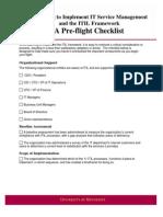 Preflight Checklist