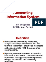 Accountin nformation