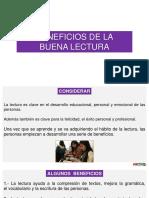 BENEFICIOS DE LA LECTURA-material semana 2