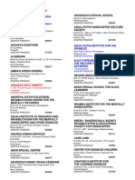 Special Schools _as Per Directory of Institutions 2002