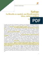 Unidad 4. La filosofía en español (campus)