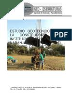 Estudio geotec inst educt Naranjo Arriba  modelo