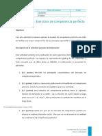 EJERCICIOS DE COMPETENCIA PERFECTA
