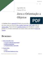 Apostila Java e Orientação a Objetos - Caelum.pdf