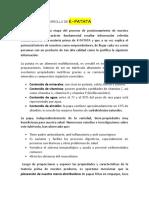 PLANEACIÓN Y DESARROLLO DE K-PATATA