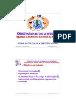 Apresentação_sistemas de informacao seguranca e os desafios eticos da tecnologia da informacao