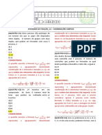 RESOLUÇÃO DA ATIVIDADE DE FIXAÇÃO -MAT I_12
