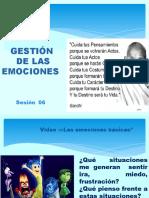SESION 06 - VIRTUAL - GESTION DE EMOCIONES
