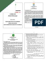 Khutbah Idul Fitri 1441 H Kemenag dan Pemkot Palembang