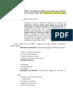 MODELO - ARTIGO CIENTÍFICO AEP