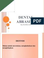 DENTAL ABRASIVE