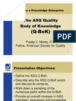 2006-09 Tutorial ASQ BoK