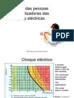 Protecção das pessoas nas instalações eléctricas