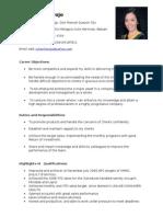 Julie Resume