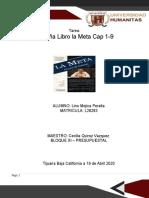L28283 Reseña Libro La Meta Cap 1-9