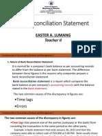 Basic Reconciliation Statement