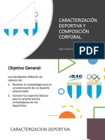 CARACTERIZACIÓN DEPORTIVA Y COMPOSICIÓN CORPORAL 1. (2)
