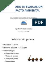 2 INTRODUCCION EIA, DESARROLLO SOTENIBLE, CICLO DE VIDA DE PROYECTO