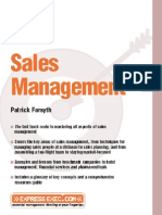 Capstone- Sales Management