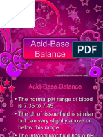 ANA110A Acid Base Balance