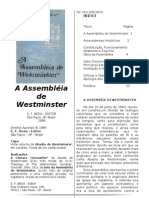 A Assembleia de West Minster - Guilherme Kerr