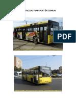 mijloace de transport in comun