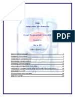 19114298 Strategic Management Analysis of PepsiCo