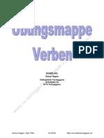 Verben-Mappe