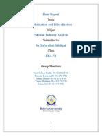 globalization & liberalization report