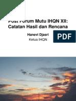 hanevi - Post Forum Mutu IHQN XII
