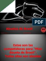 CONCURSO ABUELAS DE BRASILl