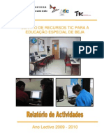 Relatório Final de Actividades CRTICEE-Beja-2009-2010