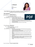 001 CV of bushra Ahmed
