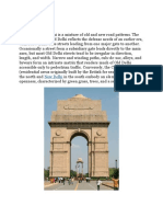 Delhi City layout