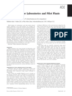 Relief Design for Laboratories and Pilot Plants