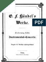 Handel - Instrumental Concerti Complete)