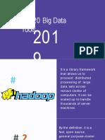 Top 20 Big Data Tools 2019