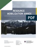 2020 Colorado Resource Mobilization Distribution Management (signed 30 Dec 2019)
