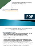 SAP Funds Management