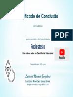 certificado curso radiestesia