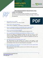 MP PIS PASEP e FGTS - 18 perguntas e respostas