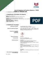 FISPQ-EVORA-C-TRUCK-G5