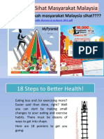 18 Steps to Better Health!