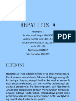 PPT KELOMPOK 7 HEPATITIS A