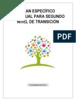 PLAN ESPECÍFICO I-SEGUNDO NIVEL DE TRANSICIÓN